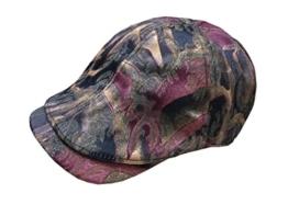 ACVIP Damen/Herren Retro mit Gitter Farbige Muster Schirmmütze Schiebermütze (Farbig) -