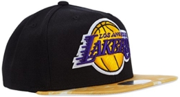 adidas Herren Kappe Lakers, Gold-Solid/Black/White, One size, AC0902 -