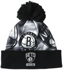 adidas Herren Woolie Nets Mütze, Black/Medium Lead/White, OSFY -