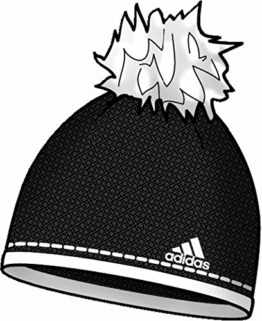 adidas Performance Bommelmütze schwarz M -