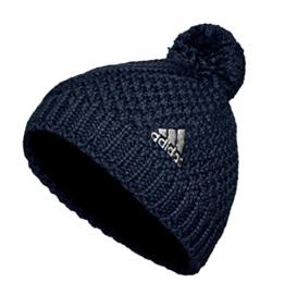 Adidas Pudelmütze , Farbe:dunkelblau, Größe:S -