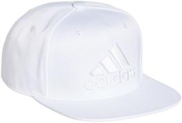 adidas Uni Baseball Flat-Brim Cap Kappe, White, OSFW -