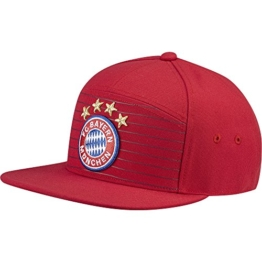 adidas Unisex FC Bayern Heim Mütze, Fcb True Red/White, OSFL -