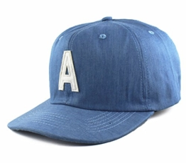 Agora Chambray 6 Panel Kappe -
