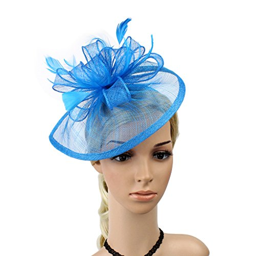 Fascinator in blau kaufen