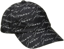 Armani Jeans | 934052 Signature Black Baseball Cap One Size Black -