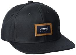 Armani Jeans Herren Baseball Cap 9340547P728, Schwarz (Nero 00020), One Size -