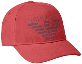 Armani Jeans Herren Baseball Cap 9340507P723, Rot (Rosso 00074), One Size -