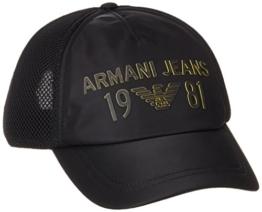Armani Jeans Herren Baseball Cap 9340667P915, Schwarz (Nero 00020), One Size -