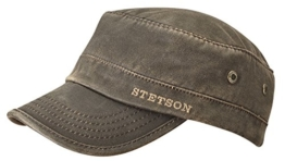 Army Cap CO/PES Lined 7491120 by Stetson (M/56-57, Braun) -