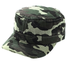 Army Cap im Used Look Kappe Mütze Schirmmütze Camouflage Unisex Damen Herren One Sitze -