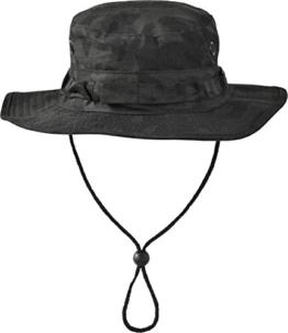 Australian Outdoor Hut Boonie Hat in vielen Farben und Grössen Farbe Night Camo Größe L -