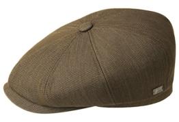 Bailey Britten Ballonmütze Schirmmütze Newsboy Cap - oliv M/56-57 -