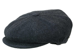 Bailey Galvin tweed Ballonmütze Schirmmütze Newsboy Cap 8-teilig - grey XL/60-61 -