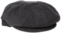 Bailey Herren Flatcap Gr. Small, Grau - Grau (Grey) -