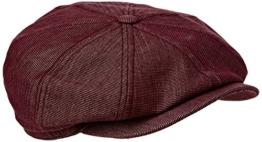 Bailey Herren Schirmmütze Britten Red (Port), Medium -