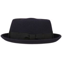 Bailey of Hollywood Darron Porkpie Hut Wollhut Wollfilzhut Filzhut Fedora Hüte Porkpie (XL/60-61 - lila) -