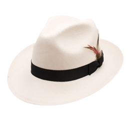 Bailey of Hollywood - Fedora Hut Herren Crase - Size M -