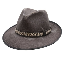 Bailey of Hollywood - Fedora Hut Herren Grimmer - Size M -