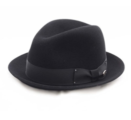 Bailey of Hollywood - Fedora Hut herren Barr - Size M - noir -