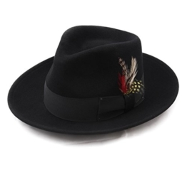 Bailey of Hollywood - Fedora Hut herren Fedora - Size L - noir -