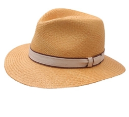 Bailey of Hollywood - Fedora Hut herren brooks - Size L - honey -