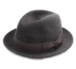 Bailey of Hollywood - Fedora Hut Herren Riff - Size L - gris-cm019 -