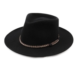 Bailey of Hollywood - Fedora Hut Herren Gysin - Size M - noir -