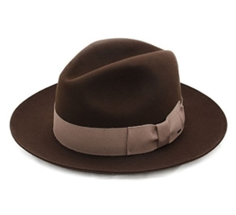 Bailey of Hollywood - Fedora Hut Herren OLeinen - Size S - brown -