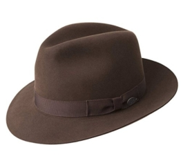 Bailey of Hollywood - Fedora Hut herren Draper II - Size S - chocolat -