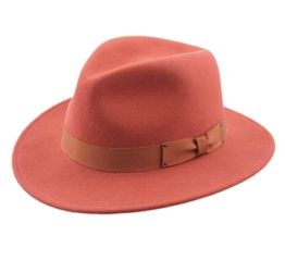 Bailey of Hollywood - Fedora Hut herren Curtis - Size XL - orange -