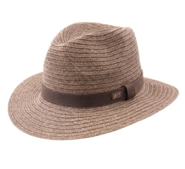 Bailey of Hollywood - Fedora Hut Herren Foley - Size L - marron -