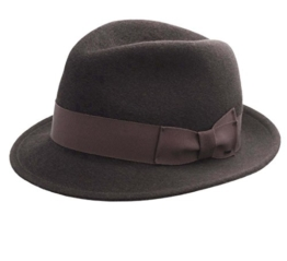 Bailey of Hollywood - Fedora Hut Herren Riff - Size XL - marron -