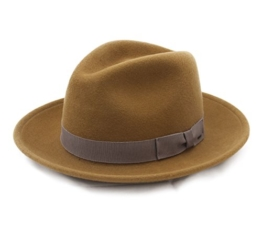 Bailey of Hollywood - Fedora Hut Herren criss - Size S - citron -