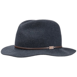 Bailey of Hollywood Filzhut Jackman Fedora Traveller Herrenhut (XL/60-61 - blau) -