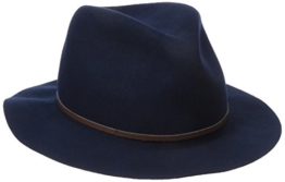 Bailey of Hollywood Filzhut Jackman Fedora Traveller Herrenhut (XL/60-61 - dunkelblau) -
