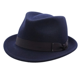 Bailey of Hollywood - Trilby Hut herren Wynn - Size XL - bleu-nv411 -
