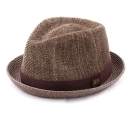 Bailey of Hollywood - Trilby Hut Herren Kashner - Size L - marron -