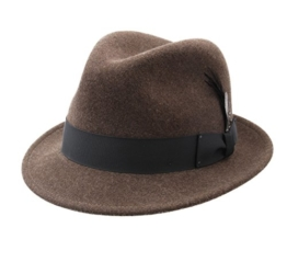 Bailey of Hollywood - Trilby Hut Herren Tino - Size M - wooland-mix -