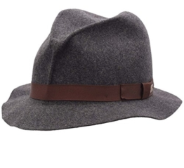 Bailey of Hollywood - Trilby Hut Herren Dean (Crushable) - Size L - charcoal -