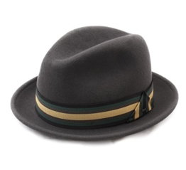 Bailey of Hollywood - Trilby Hut Herren goldring - Size L - basalt -