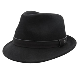 Bailey of Hollywood - Trilby Hut Herren Ike - Size S - noir -