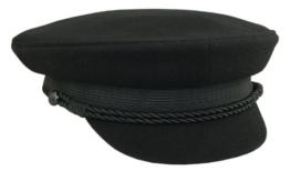 Balke, Elbsegler Tuch, Schirmmütze schwarz, 56 -