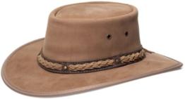 Barmah 1022 Squashy Bronco Cooper Crossing Lederhut Hickory aus Australien L (57-58) -