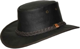 Barmah 1072 Red Rock Cowhide Leather Hat -