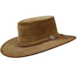 Barmah Herren Cowboyhut Braun Hickory -