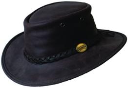 Barmah Herren Cowboyhut Gr. Small, Bronco Brown -
