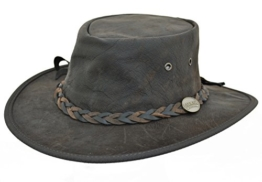 Barmah Klappbarer Squashy Känguru Hut, Knisternde Braun (1018) - M -