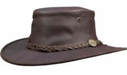 Barmah Sundowner Roo Hat dunkelbraun, XXL 62,5cm -