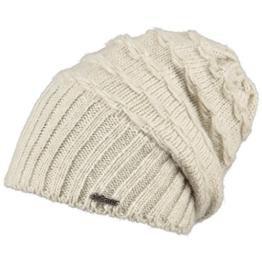 Barts Damen Adige Baskenmütze, Elfenbein (Oyster), One size (Herstellergröße: Unica) -